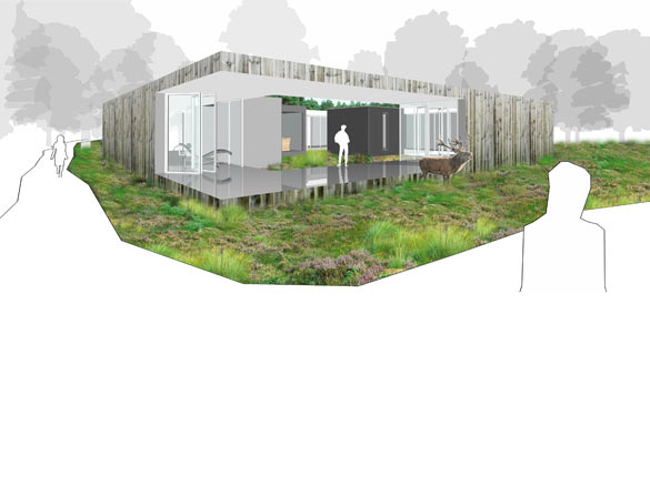 grote illustratie architectenbureau project stadarchitecten amsterdam